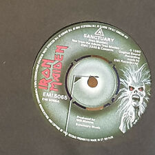 "Iron Maiden ‎– Sanctuary - 7"" single - EMI 5065 - UK 1980"