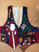 Christmas Vest Handmade Ugly Sweater Novelty Holiday