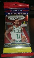 2017-18 Panini Prizm Basketball Fat Pack with 3 Card Red White Blue Pack