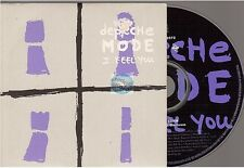 DEPECHE MODE i feel you CD SINGLE france french lightly damaged cover poch abimé