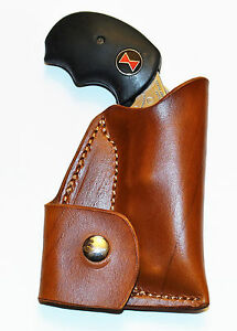 Pocket holster with ammo pouch for NAA 22 Black Widow Adjustable sight version.