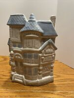 Vintage Counterpoint San Francisco Ceramic Victorian House Vase Planter Japan