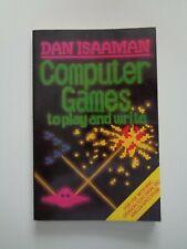 COMPUTER GAMES TO PLAY AND WIRTE - Taschenbuch  !!!RAR!!!