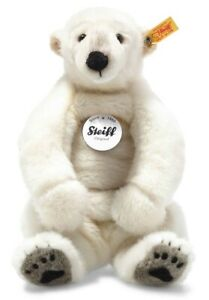 Steiff Nanouk Polar Bear - washable plush soft toy - 33cm - 062605