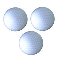 3Pcs White LED Glow in the Dark Golf Ball Night Golf Sports LED Golf Balls