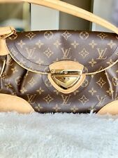 Authentic Louis Vuitton Hand Bag Beverly GM LV