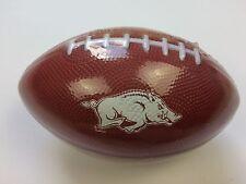NCAA Arkansas Razorbacks Rubber Football