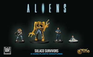Aliens Another Glorious Day In The Corps Sulaco Survivos Expansion Board Game UK