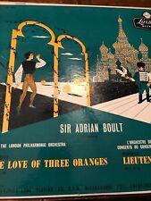 SIR ADRIAN BOULT - THE LOVE OF THREE ORANGES & LIEUTENANT KIJE + BONUS
