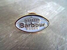 BARBOUR RUGBY PIN BADGE - OVAL DESIGN - True English Brand