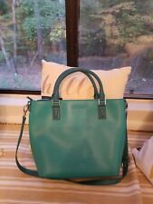 Vera Bradley Teal Tote Faux Leather