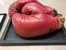 Muhammad Ali Signed Gloves And Photo
