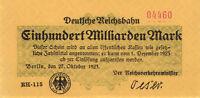 RVM-14a Deutsche Reichsbahn 100 Milliarden Mark 1923 (1)