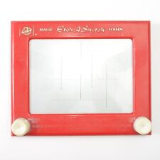 Etch A Sketch Ohio Art Red 505 Magic Screen World Of Toys Ih0796 9.75X8 Vintage
