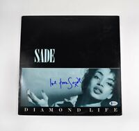 Sade Diamond Life Autographed Signed Album LP Record Beckett Authentic BAS COA