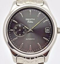 Zenith Elite Automatic 90/02.0040.680 Gents stainless steel watch 26 Jewels.