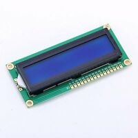 5V HD44780 1602 LCD Display Module 16x2 Character LCM Blue Blacklight NEW