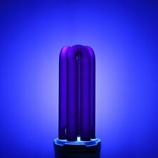 18W UV Ultraviolet Blacklight Low Energy CFL Light Bulb, BC, E27, Bayonet Lamp