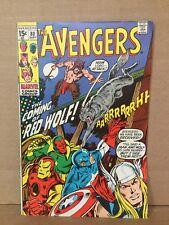 Avengers #80 1st App Red Wolf