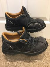 Women's Art Company Gris/Negro De Cuero Zapatos/Zapatillas Uk Size 4 EU37 libertad