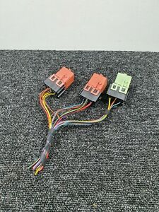 BMW 5 Series E61 Relay Charger Plugs Set With Wirings 1742690 8373700