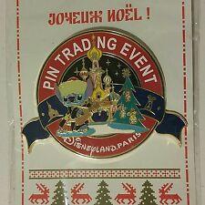 Disneyland Paris DLP Christmas Pin-Doll Party Trading Event Jumbo Holiday Stitch