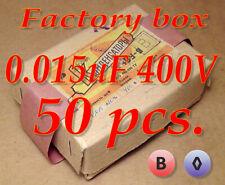0.01uF 1KV Disco Condensador 4 X Piezas RS Nos Vintage Radio Repuestos