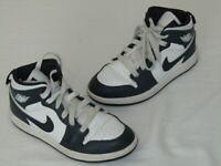 "Nike Air Jordan 1 Mid ""Obsidian"" 640734-174 Size 13C"