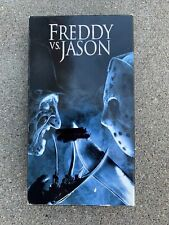 """Freddy vs. Jason (Vhs, 2004) """"A Nightmare On Elm St. / Friday The 13th"""" Tested"""