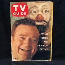 1959 TV Guide January 24 - Red Skelton Cimarron City burns down;Sammy Kaye; Ida