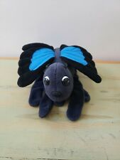 Plush Creations Hand Glove Puppet Blue Black Butterfly Stuffed Toy Pretend Play
