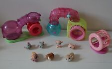 LOT Figurine animaux My Littlest Pet shop LPS HASBRO Habitrail Hamster souris