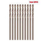 10Pcs M35 Round Shank HSS-Co Cobalt Twist Drill Spiral Drill Bit 1mm-3.5mm Kit