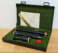 Moeck Rottenburgh Alto Recorder - Ebony Nr.539 - Boxed With Certificate 1988