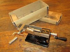 Johann Faber (ACME) Pencil Sharpener Circa 1911 in box with extra cutters