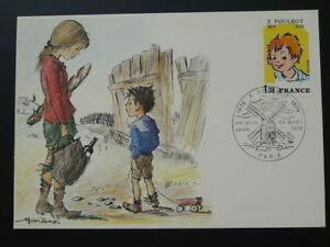 comics Francisque Poublot child maximum card 47809