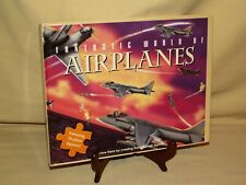 AIRPLANE PUZZLE 24 PC FANTASTIC WORLD 2005 RUMC (HK) ROBERT FREDERICK LTD NEW.
