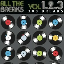 Various Artists - All the Breaks Vol. 1+2+3 [New CD]