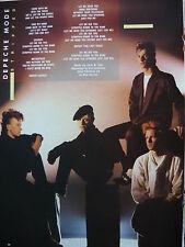 Depeche Mode - Revista Recortado (Completo Páginas Foto W/ Songwords ) (Ref B3B)