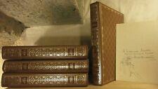 LA BIBLE 4 volumes EURO-ÉDITION ILLUSTRÉ + un dessin original Dussarthou BE
