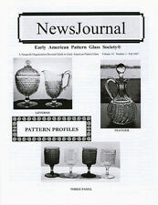 Early American Pattern Glass Society NewsJournal 14-3