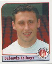 N°176 DUBRAVKO KOLINGER # DEUTSCHLAND FC.ST PAULI STICKER PANINI BUNDESLIGA 2002