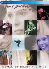JONI MITCHELL - WOMAN OF HEART AND MIND   DVD NEW+