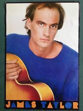 "James Taylor Poster Vintage 1981 Original 23.5"" x 34"" Columbia Records P-37009/A"