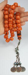 Faturan German Islamic Prayer 33 Beads Rosary Tasbeeh W14 * H16mm فاتوران الماني
