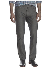 Calvin Klein Jeans Men's 5 Pocket Herringbone Straight Pant, Chrome, Size 34x30