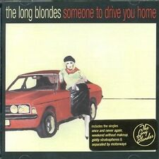 Long Blondes Someone to Drive You Home CD 12 Track UK Rough Trade 2006