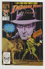Indiana Jones and The Last Crusade #1 In A Four Issue Limited Series Marvel 1989