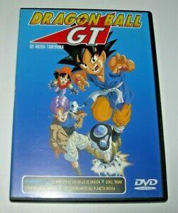 Dragon Ball GT episodios 1, 2 y 3 DVD - Edición española