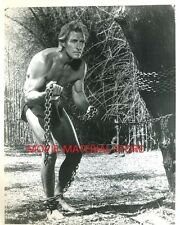 "Jock Mahoney Tarzan Goes To India Original 8x10"" Photo #M2521"